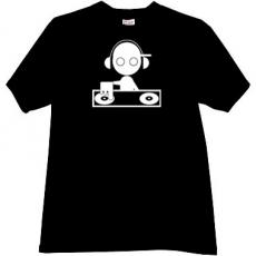 DJ Music T-shirt in black
