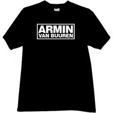 Armin Van Buuren Cool Music T-shirt in black