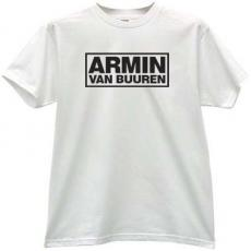 Armin Van Buuren Cool Music T-shirt in white