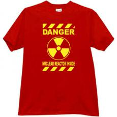 DANGER - Nuclear Reactor Inside! Cool T-shirt