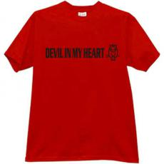Devil in my heart - Hell T-shirt
