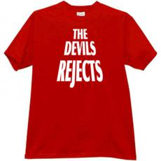 The Devils Rejects Cool T-shirt in red
