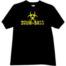 Drum and Bass Cool Music T-shirt in black2