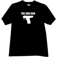 The Emo Gun Cool T-shirt in black