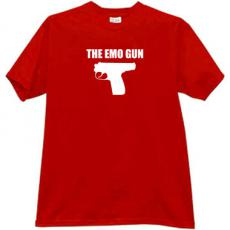 The Emo Gun Cool T-shirt in red