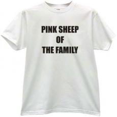 Pink Sheep of the Family - Funny T-shirt