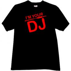 Im Your DJ Cool Music T-shirt in black