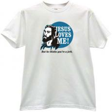 Jesus Love Me - Christian T-shirt