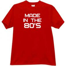 Made in the 80s Vintage T-shirt in red