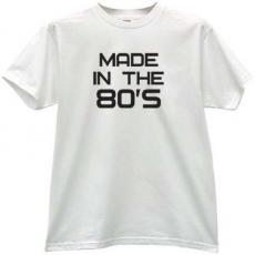 Made in the 80s Vintage T-shirt in white
