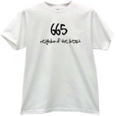 665 Neighbor of the Beast Hells t-shirt in white