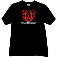 RadioHead Cool Music T-shirt in black