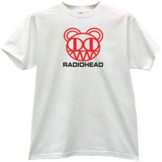 RadioHead Cool Music T-shirt in white