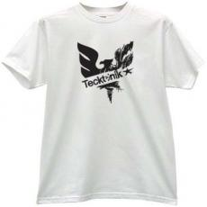 Tecktonik Music T-shirt in white