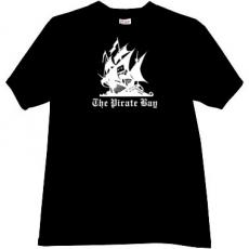 The Pirate Bay Cool Music T-shirt in black
