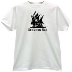 The Pirate Bay Cool Music T-shirt in white